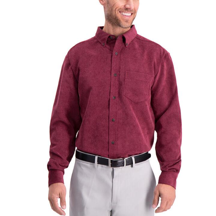 Corduroy Shirt, Wine