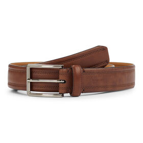 Single Loop Stitching Belt, Khaki