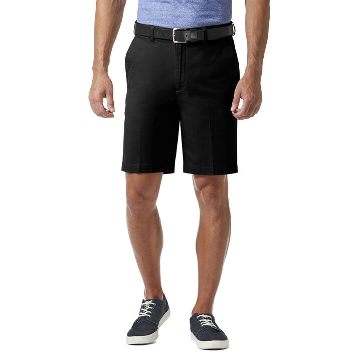 Stretch Chino Short, Black open image in new window