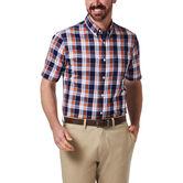 Plaid Button Down Shirt, Orange 1