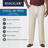 Big & Tall Cool 18® Pro Pant, Khaki view# 5