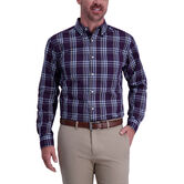 Multi Color Plaid Shirt, Aubergine 1