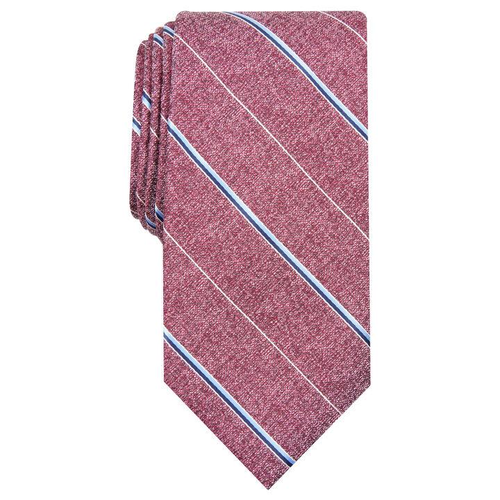 Striped Tie, Red