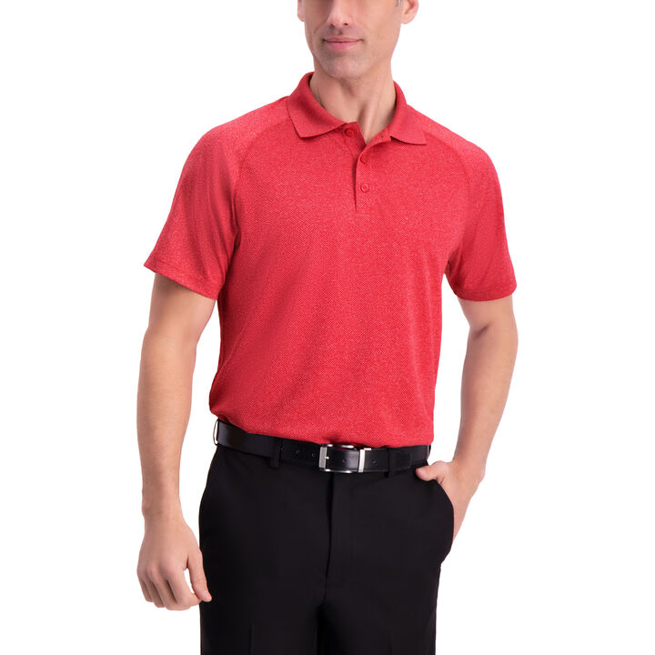 Raglan Golf Polo, Begonia