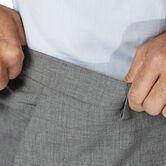 J.M. Haggar 4 Way Stretch Dress Pant, Light Grey 5