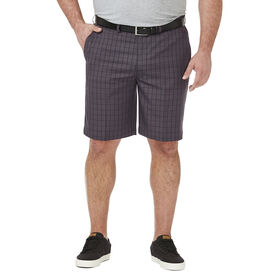 Big & Tall Cool 18® Pro Graphic Windowpane Short , Graphite