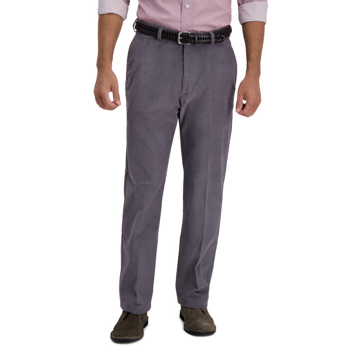 Stretch Corduroy Pant,  Charcoal open image in new window