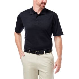 Cool 18® Space Dye Polo, Black