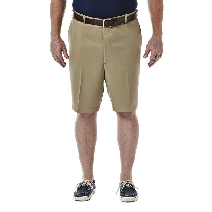 BIG & TALL Cool 18® Shorts, British Khaki open image in new window