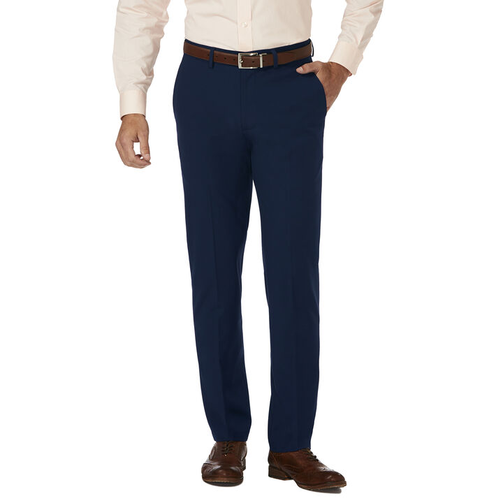 J.M. Haggar 4 Way Stretch Dress Pant, Blue