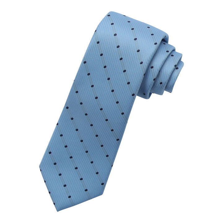 Dotted Tie, Light Blue