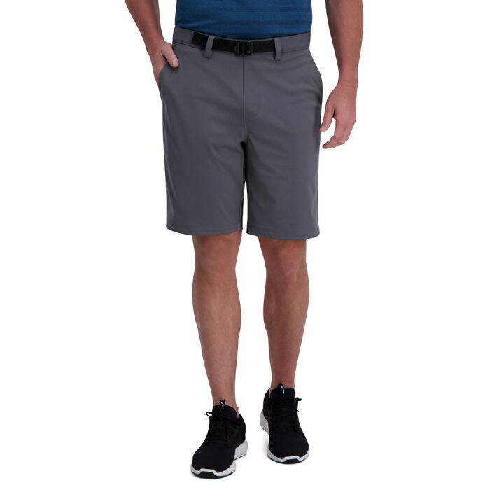 The Active Series™ Stretch Solid Short, Medium Grey