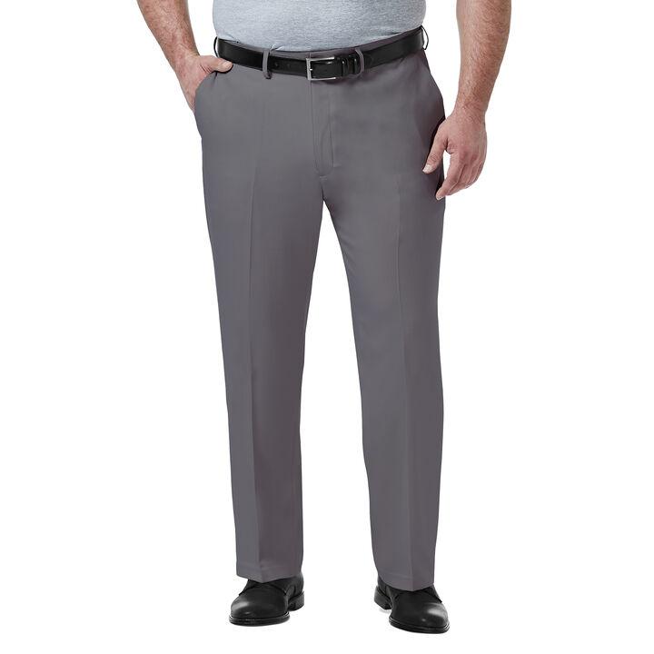 Big & Tall Premium Comfort Dress Pant, Medium Grey
