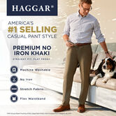 Premium No Iron Khaki, Black 4
