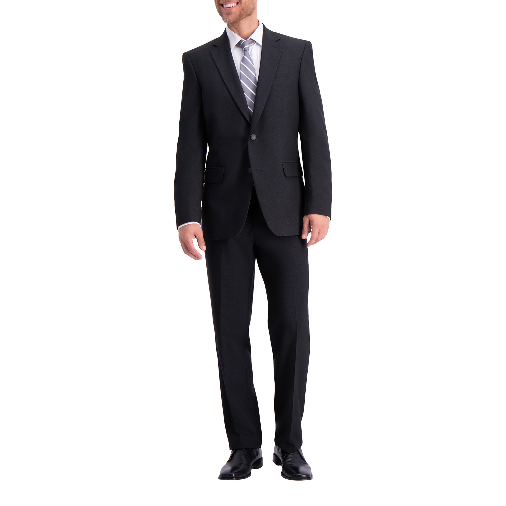 Traveler Straight Fit Suit Coat