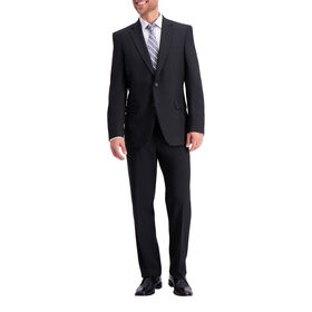 Traveler Suit Coat – Black Grid , Black