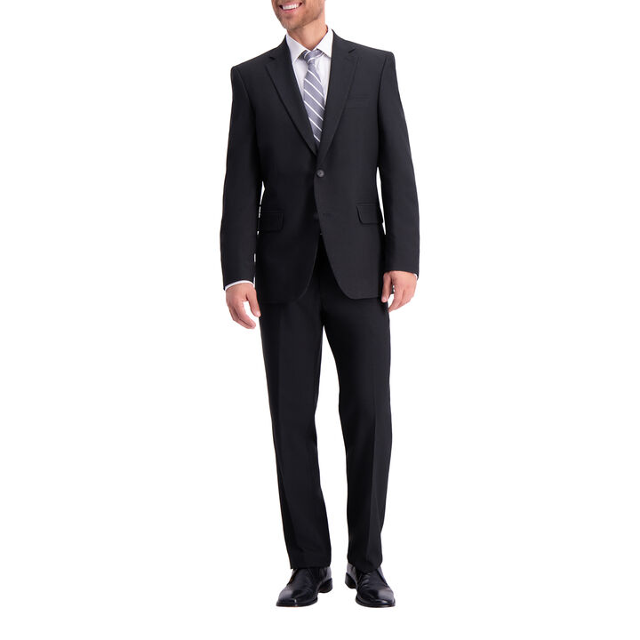 Traveler Suit Coat – Black Grid , Black, hi-res