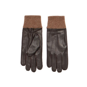 Leather Gloves, Brown