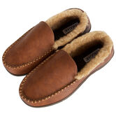 Smooth Venitian Slippers, Khaki view# 2