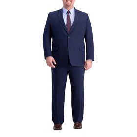 Big & Tall J.M. Haggar 4-Way Stretch Suit Jacket, Blue