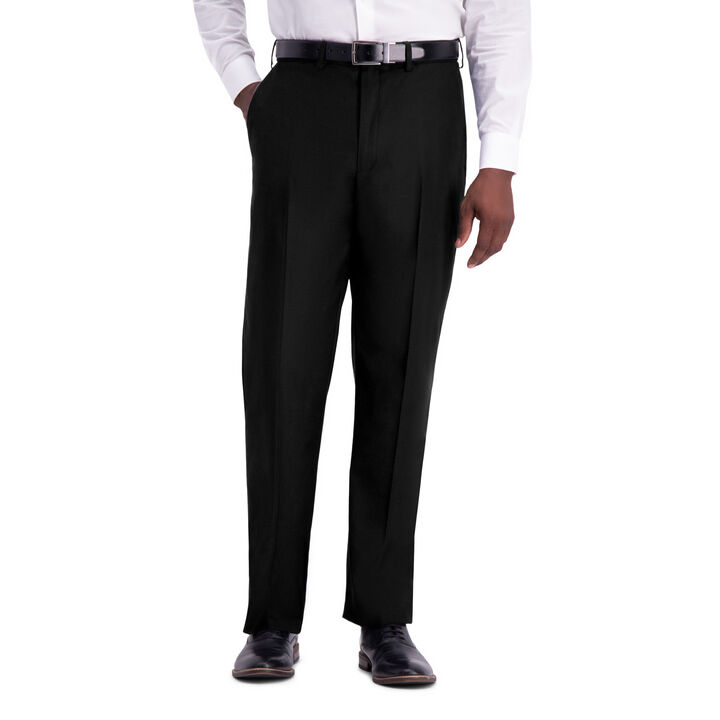 J.M. Haggar Texture Weave Suit Pant, Grey open image in new window