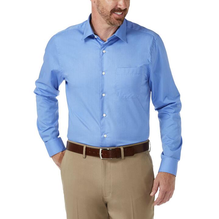 Fitted Dress Shirt, Euro Blue