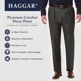 Premium Comfort Dress Pant, Khaki view# 6