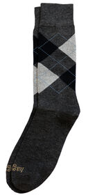 Dress Socks - Argyle, Bean