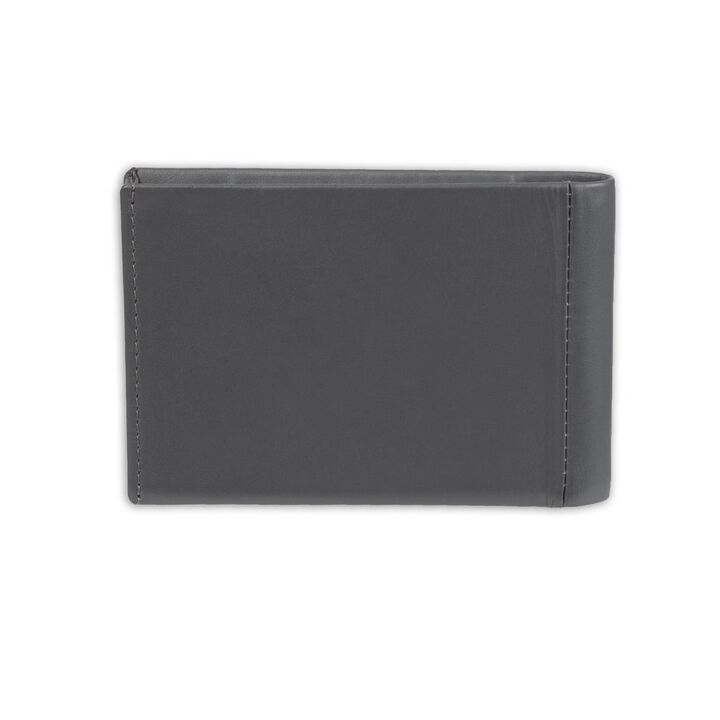 RFID Micro Slim Fold Wallet, Graphite open image in new window