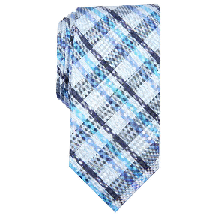 Oneill Plaid Tie, Navy