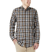 Long Sleeve Plaid , Charcoal 1