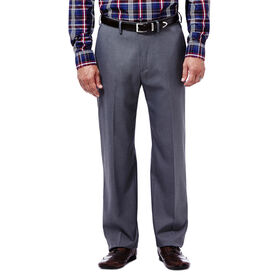 Expandomatic Stretch Heather Dress Pant, Dark Grey