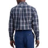 Classic Plaid Shirt, Navy 2