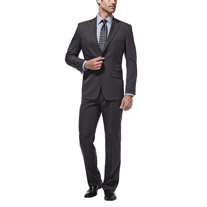Travel Performance Suit Separates Jacket,  Charcoal open image in new window
