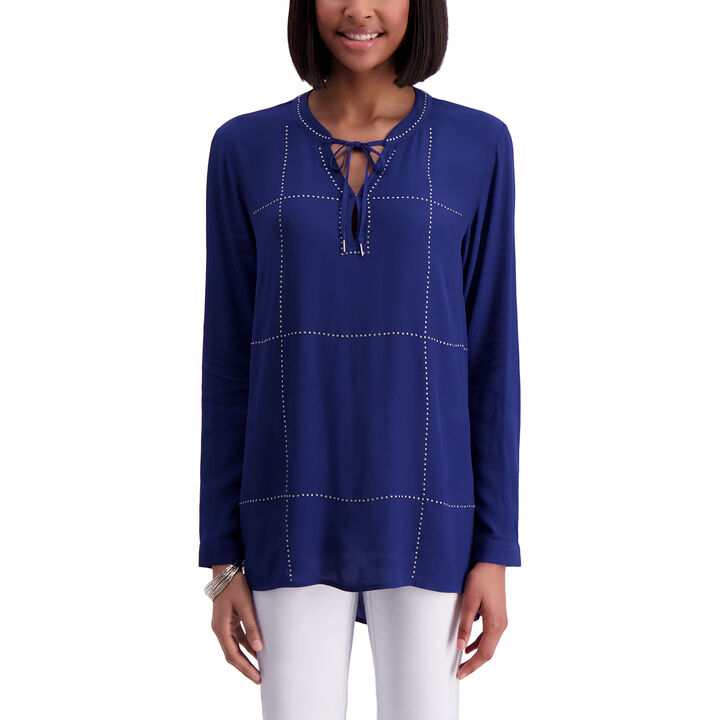 Long Sleeve Blouse, Pacific