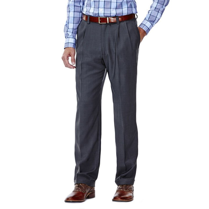 E-CLO™ Stria Dress Pant, Medium Grey