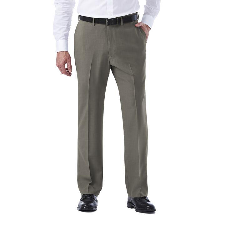 E-CLO™ Stria Dress Pant, Heather Grey