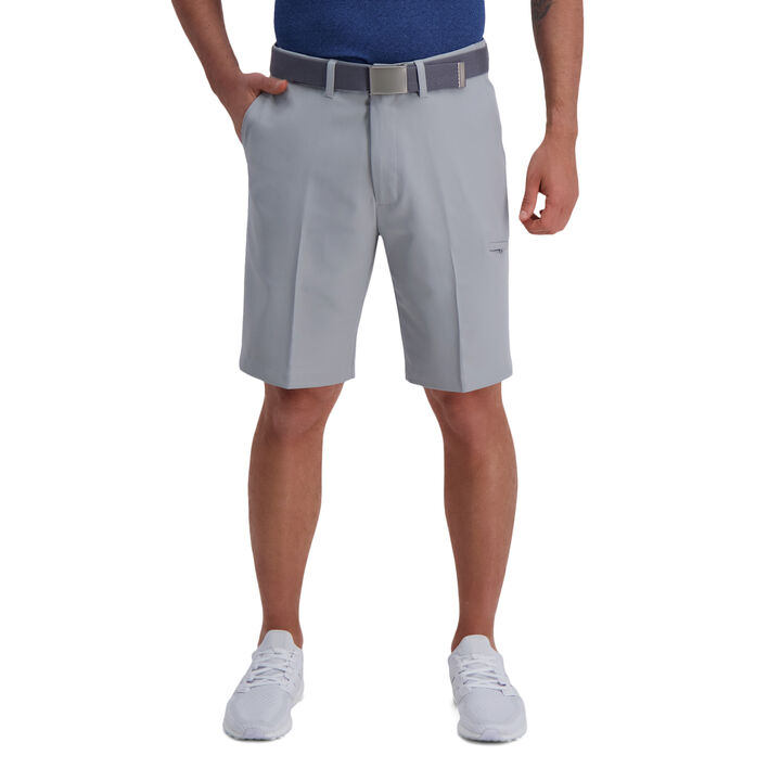 The Active Series™ Solid Utility Short, Light Grey open image in new window