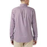 Gingham Button Down Shirt, Winetasting 2