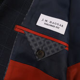 J.M. Haggar Textured Glen Plaid Sport Coat,  view# 6