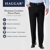 Premium Comfort Dress Pant, Blue view# 6
