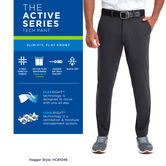 The Active Series™ Tech Pant,  Charcoal view# 4