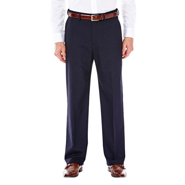 J.M. Haggar Premium Stretch Suit Pant - Flat Front, Dark Navy
