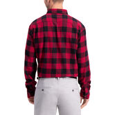 Buffalo Plaid Shirt, Tibetan Red 2