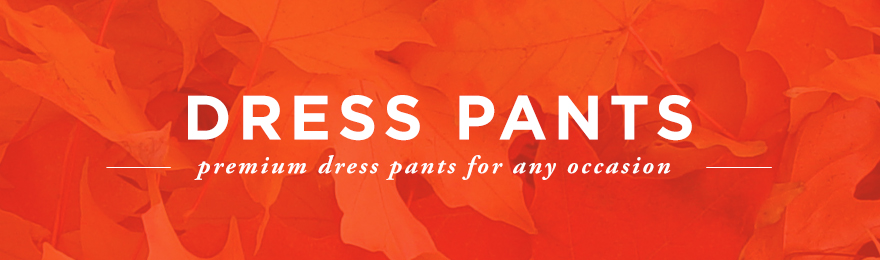 Dress Pants Banner