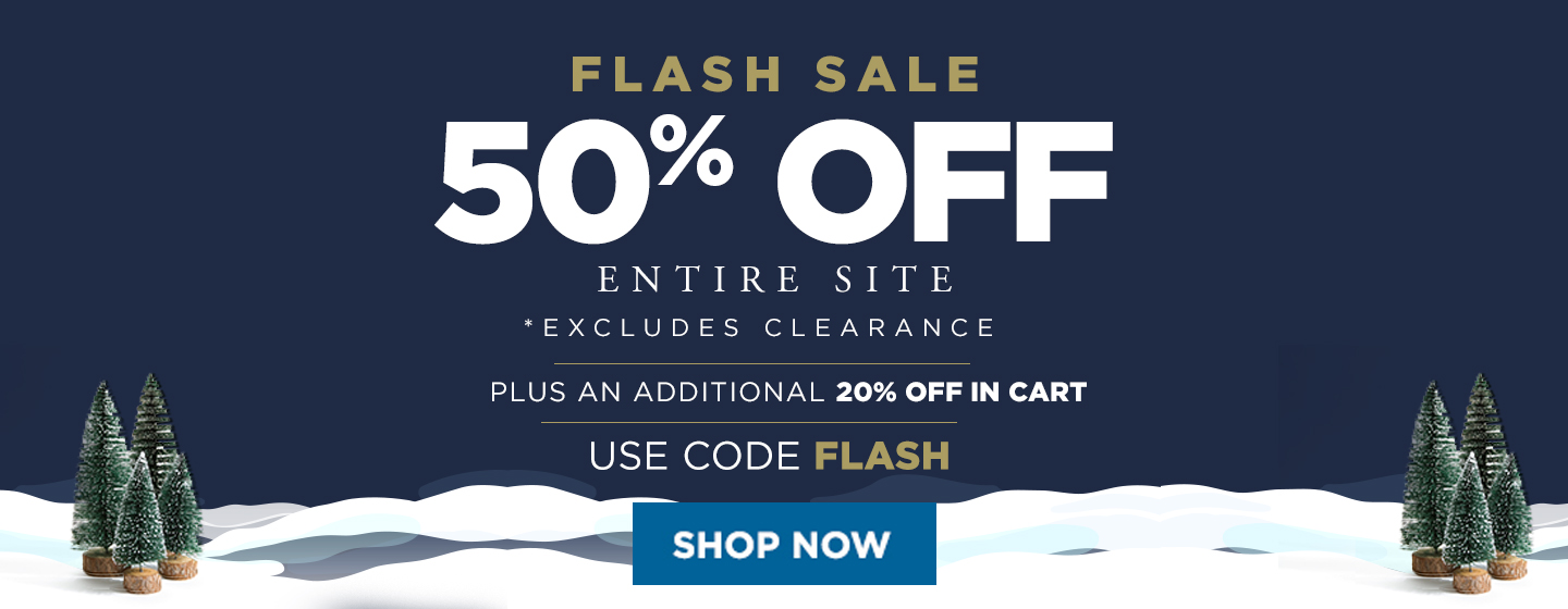50% off Entire Site + additional 20% off in cart w/ code