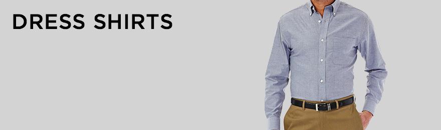 Dress Shirts Banner