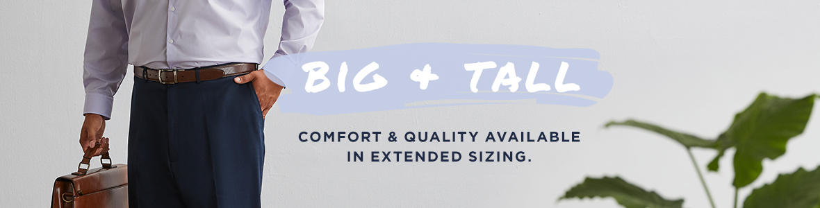 Big & Tall Category Banner