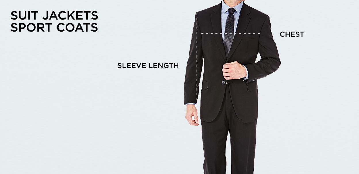 Size Chart Men S Clothing Size Chart Haggar