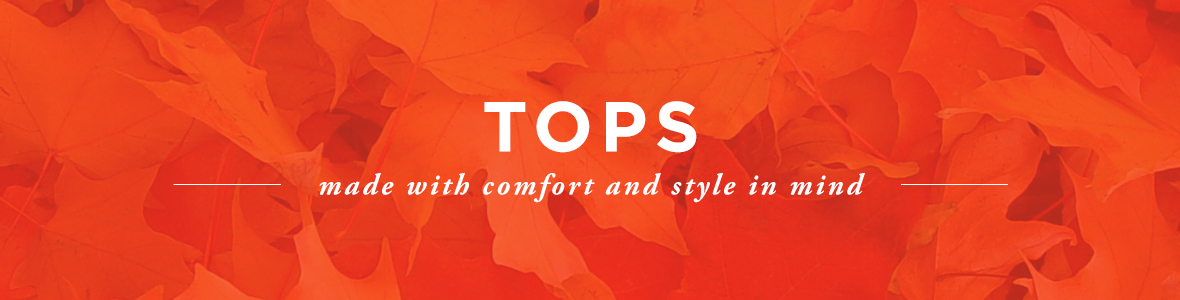 Tops Category Banner